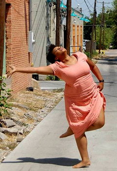 Ursula Hicks, Lindy Hop and Swing Dance teacher
